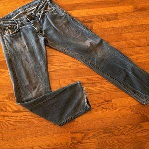 Edwin Japan Denim Distressed Jeans Size 34/33 Men
